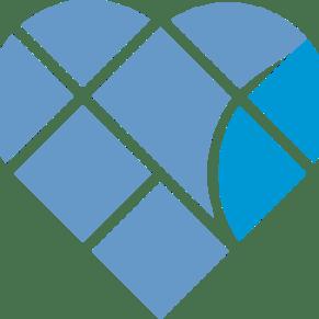 blue townsend heart