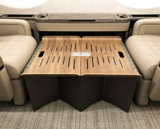 Photograph of the Diep Sleep System by Euler Products featuring Townsend Leather's, Perfectly Pebbled Cowhide.