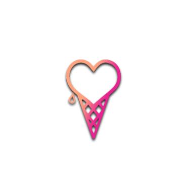 heart icecream