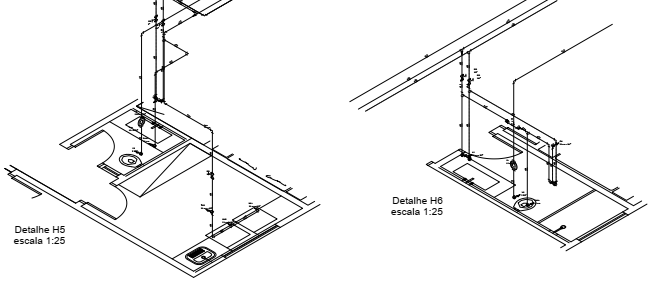 Projeto Hidráulico - Tows Engenharia e Construtora Maringá