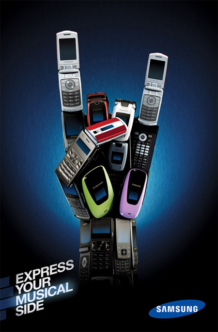 Samsung Express Yourself Advertisement