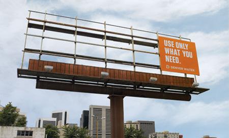 Denver Water Advertisement