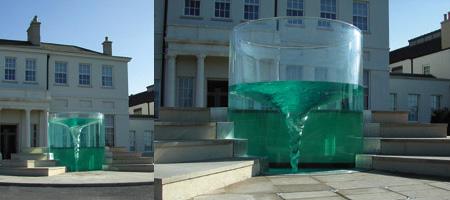 Vortex Water Sculpture 2