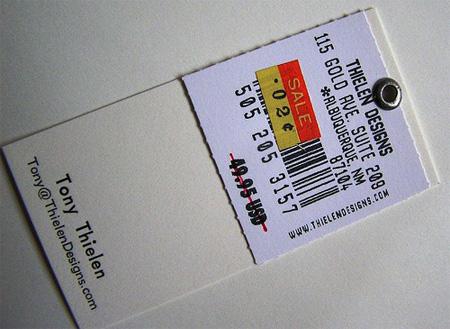Thielen Designs Business Card