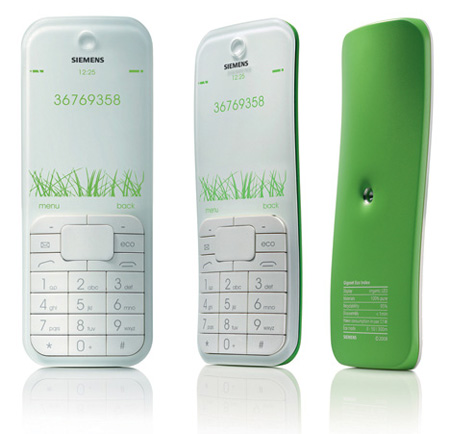 Leaf Cell Phone Concept