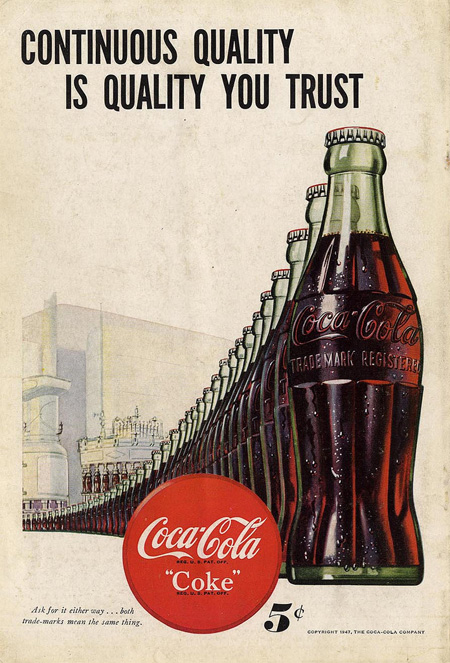 Classic Coca-Cola Advertisement