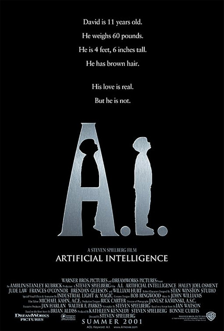 A.I. Artificial Intelligence (2001) Poster