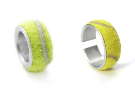 Tennis Ball Rings