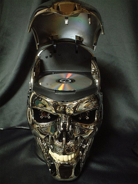 The Terminator Skull DVD Player 2