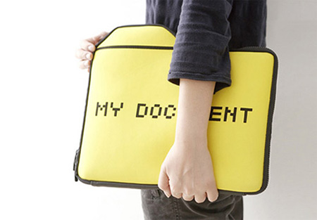 My Documents Laptop Sleeve