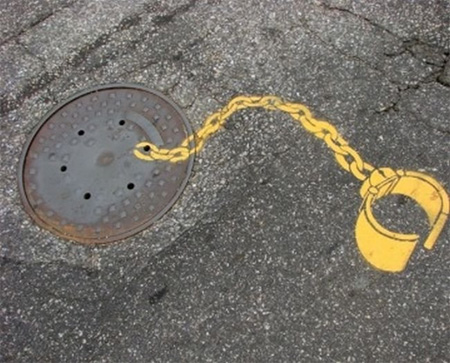 Pedestrian Street Art by Peter Gibson 7