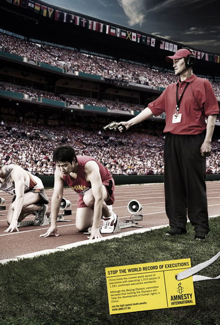 Amnesty International Olympics Advertisement