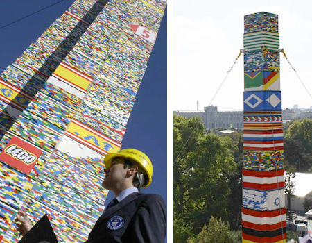 Tallest LEGO Tower in Vienna 2