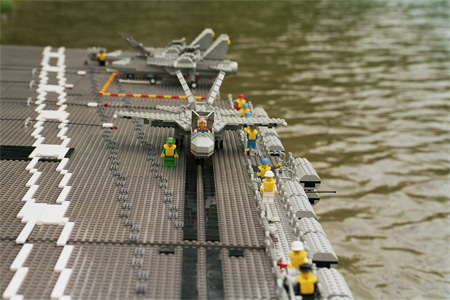 LEGO Aircraft Carrier 3