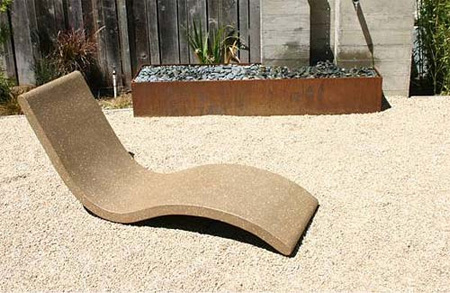 Chaise lounge by concreteworks studio mahyargh 39 s weblog for Another name for chaise lounge