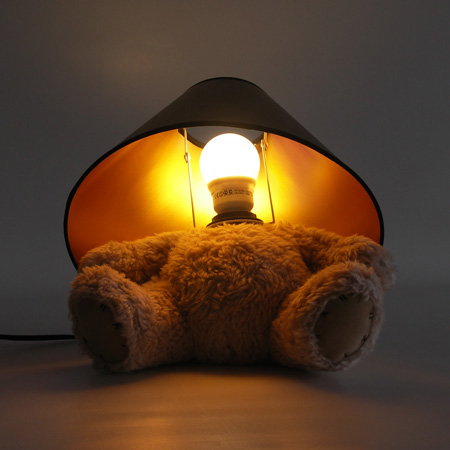 Teddy Bear Lamp by Matthew Kinealy 5