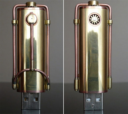 Steampunk USB Flash Drive 2