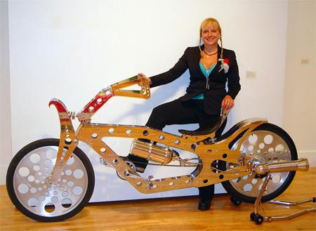 Gismo Rocket Powered Bicycle
