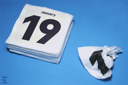 2009 Napkins Calendar 2