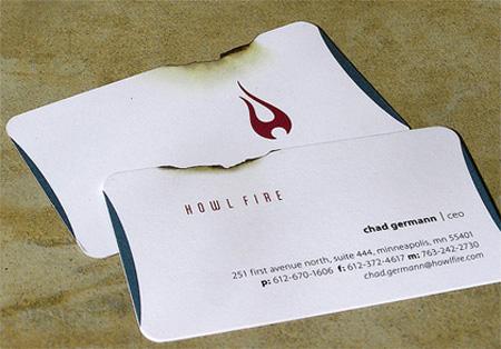 Howl Fire Business Card