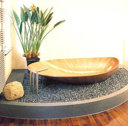 Mussel Shell Bathtub 2