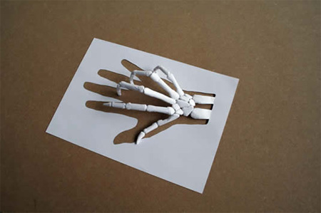 Paper Cut Sculptures by Peter Callesen