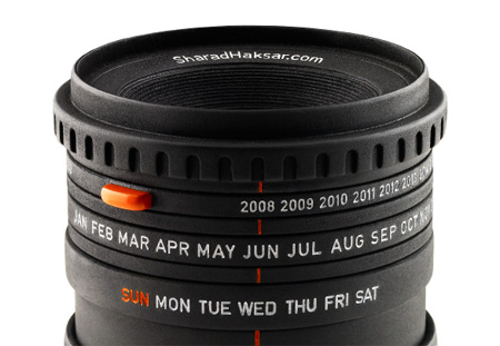The World\'s First Camera Lens Calendar
