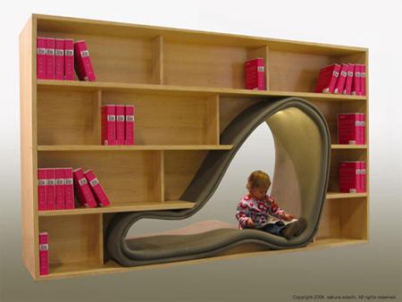 Cave Bookcase