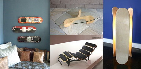 Skateboard Inspired Furniture Designs
