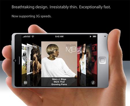Titanium iPhone Concept 3