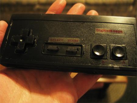 NES Nintendo Controller Soap