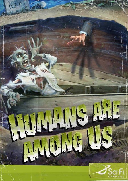 Humans are Among Us Sci Fi Ad Campaign 2