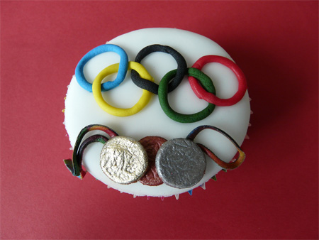 Olympic Games Cupcake