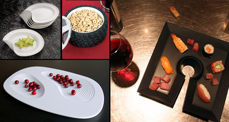 Food Plates and Creative Dishware Designs