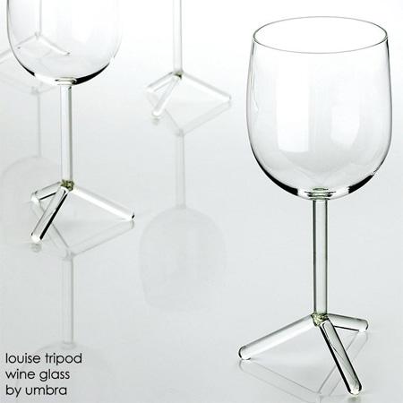 Tripod Wine Glass