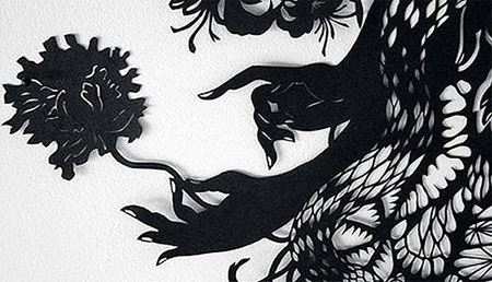 Paper Cutting Art by Kako Ueda 4