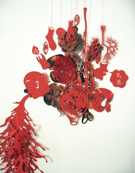 Paper Cutting Art by Kako Ueda 5