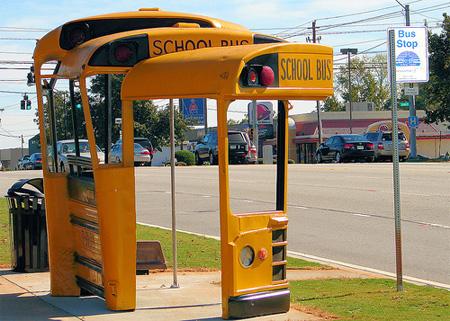 School Bus Bus Stop