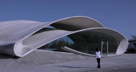 Casar de Caceres Bus Stop in Spain