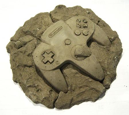 Nintendo 64 Controller Fossil