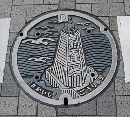 Painted Manhole Covers from Japan 4