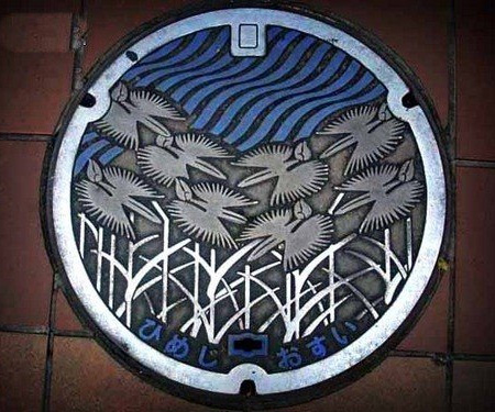 Painted Manhole Covers from Japan 6