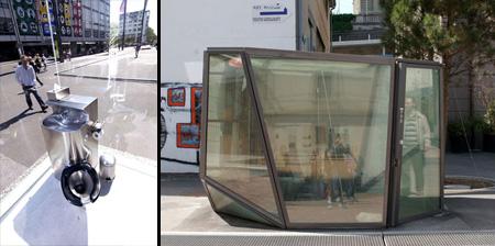 transparent public toilets