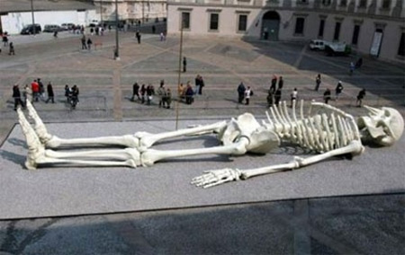 Skeleton Sculpture