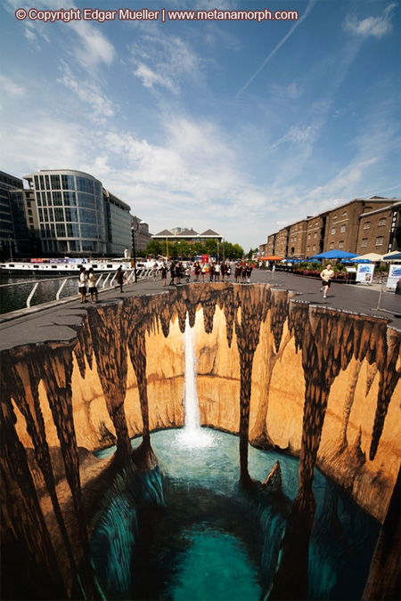 3D Mysterious Cave in London