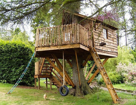Beautiful Amazon Tree Houses 7