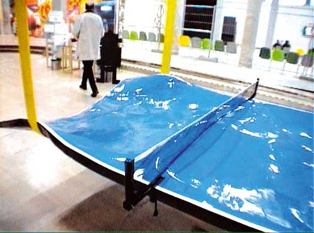 Extreme Ping Pong Table Designs 9