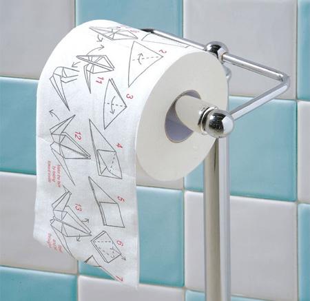 Origami Toilet Paper