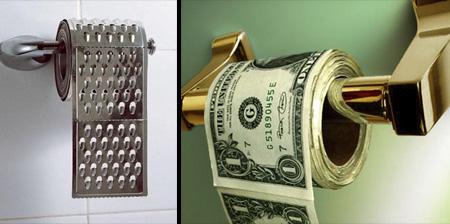 12 Creative Toilet Paper Designs