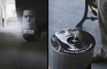 Anti-Smoking Stickers